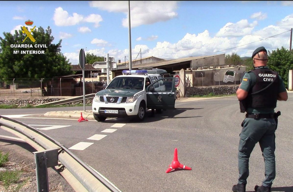 La Guardia Civil de Inca ha detenido a un hombre por portar un revólver sin licencia de armas