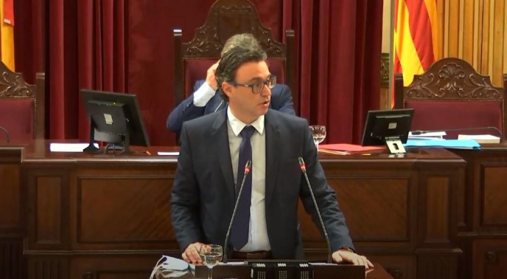 El PP Balear presenta una iniciativa en el Parlament en contra de los indultos a los condenados por el 'Procés'