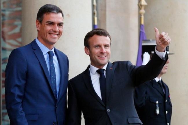 Sánchez está en cuarentena por el positivo de Macron por coronavirus