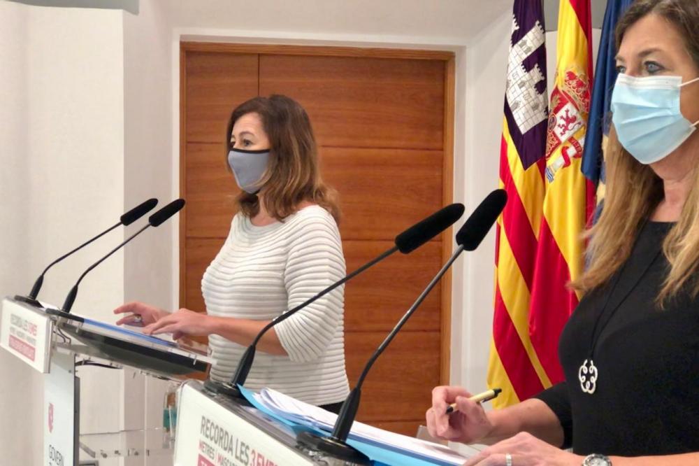 Se limitán en Mallorca e Ibiza a un único núcleo de convivencia los encuentros familiares y las reuniones sociales