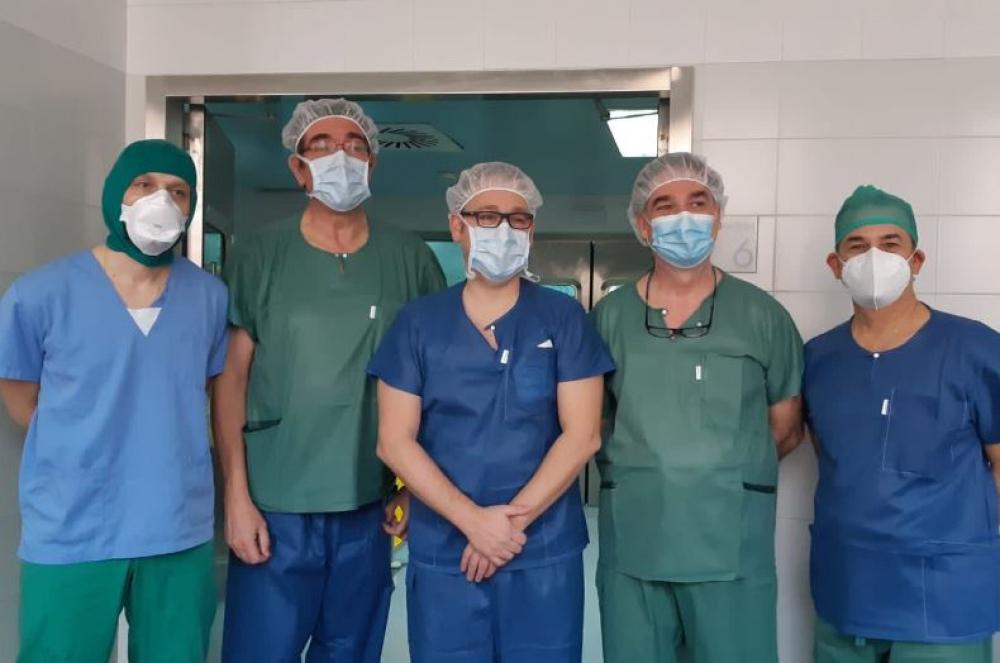 Son Llàtzer realiza la primera intervención quirúrgica en la sanidad pública de Baleares con láser de holmio en adenoma de próstata