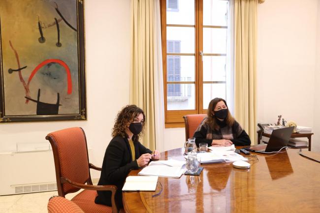 Armengol se reúne con la vicepresidenta Calviño