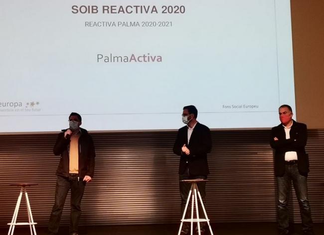 138 personas trabajarán en el Ajuntament de Palma durante cuatro meses gracias al programa SOIB Reactiva 2020