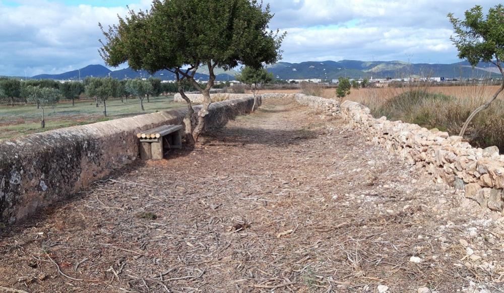 El Parque Natural de ses Salines recupera el carreró de Can Blai para los peatones
