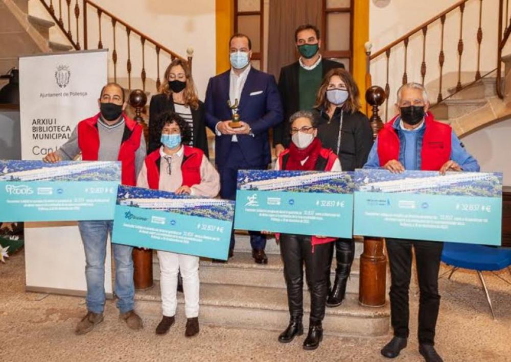 Hotel Formentor dona más de 130.000 euros a organizaciones benéficas