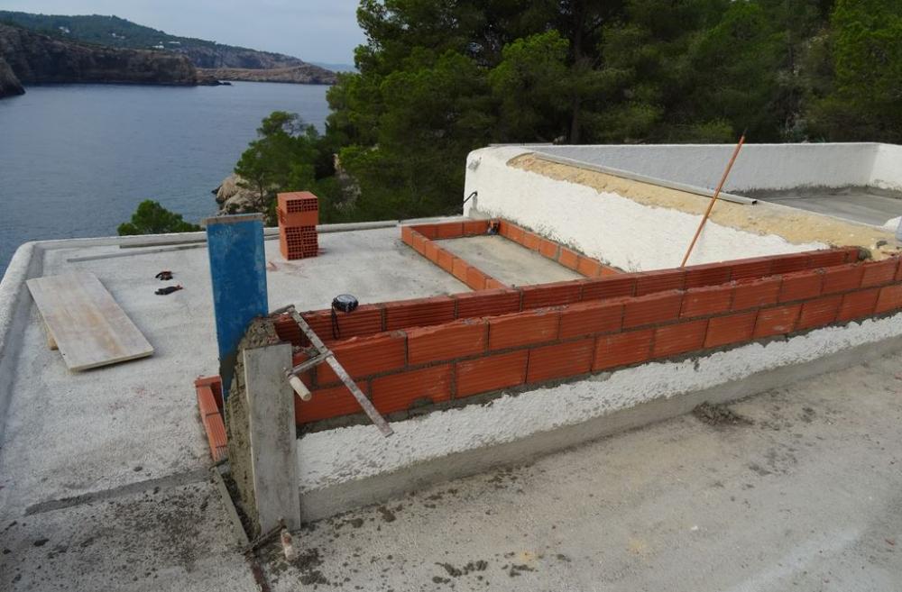 Imponen una sanción de más de 70.000 euros por unas obras no autorizadas en Sant Antoni de Portmany