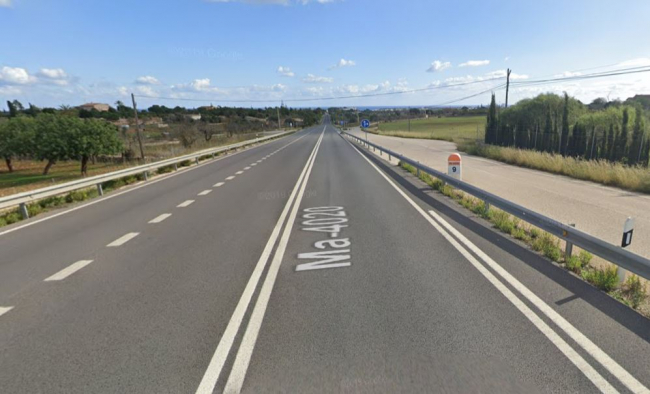 Accidente mortal en la carretera Manacor-Porto cristo