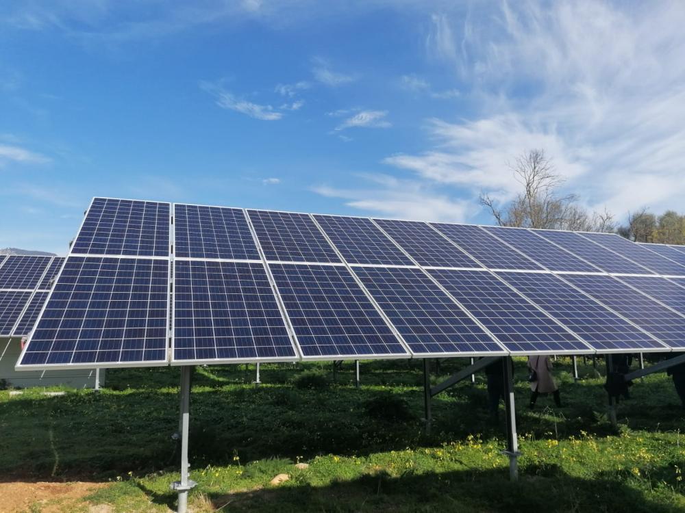 La nueva instalación fotovoltaica de la EDAR de Alaró ahorrará más de 10.000 euros anuales a la Administración