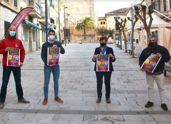 La Rua de Santanyí de este año será virtual y con premios económicos para utilizar el comercio local