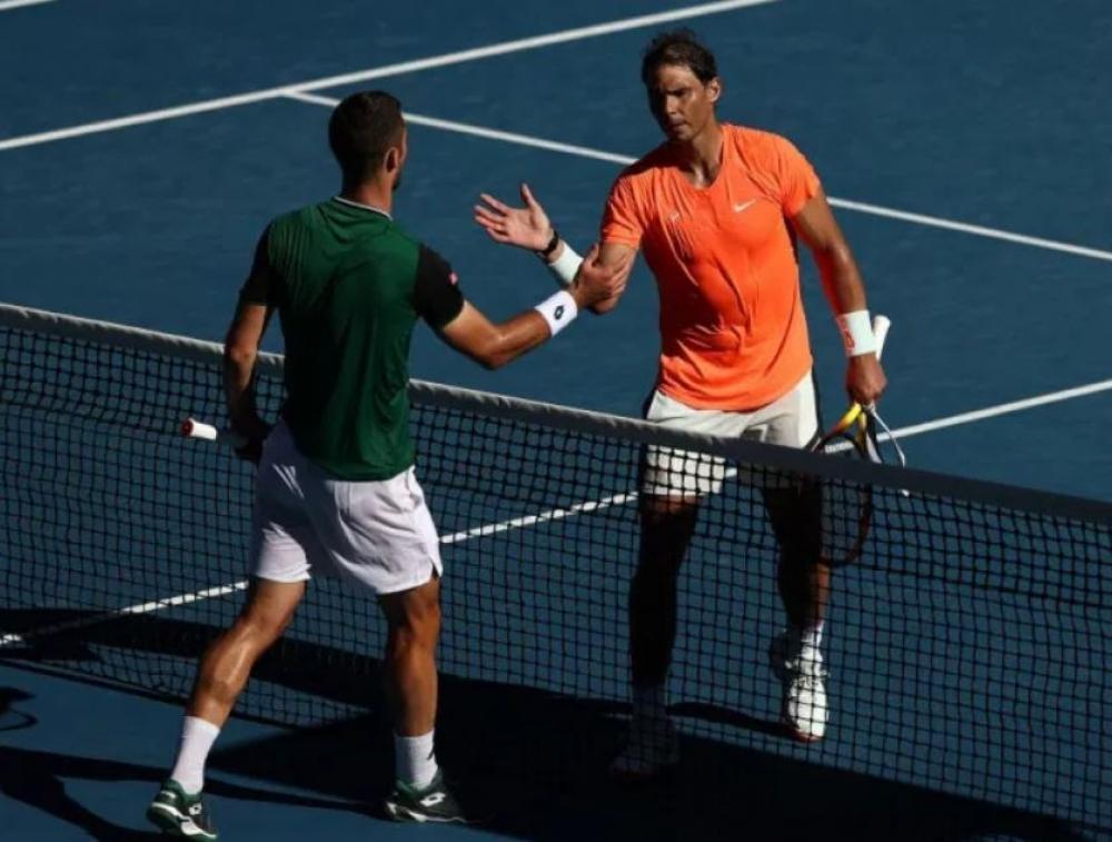Nadal debuta con victoria ante Laslo Djere en el Abierto de Australia