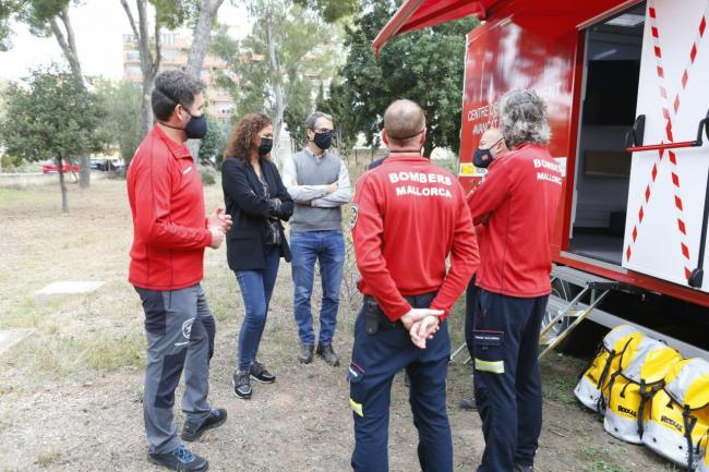 El Consell de Mallorca cederá dos vehículos de Bomberos al Fondo Mallorquín de Solidaridad