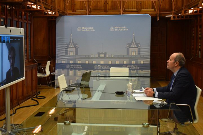 Ministro de justicia: España es un Estado de Derecho y una democracia plena