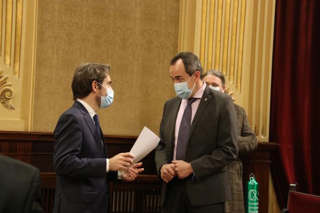 Cs Baleares exige el cese del coordinador de la estrategia de vacunación contra la Covid-19