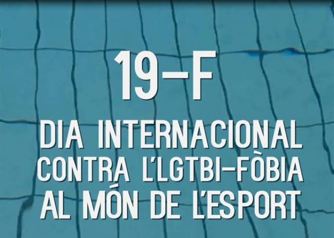 Deportistas profesionales y alumnos de las Illes Balears protagonizan la campaña del 19F, día Internacional contra la lgtbifobia en el mundo del deporte