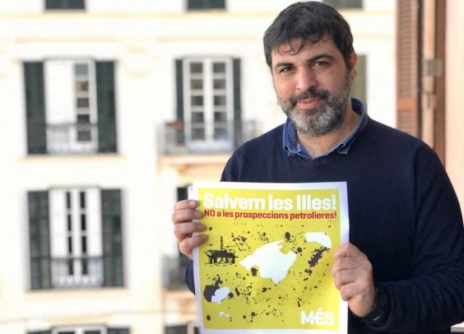 Josep Ferrà: 'La pasividad del gobierno español hace que continúen las prospecciones petrolíferas en el Mediterráneo'