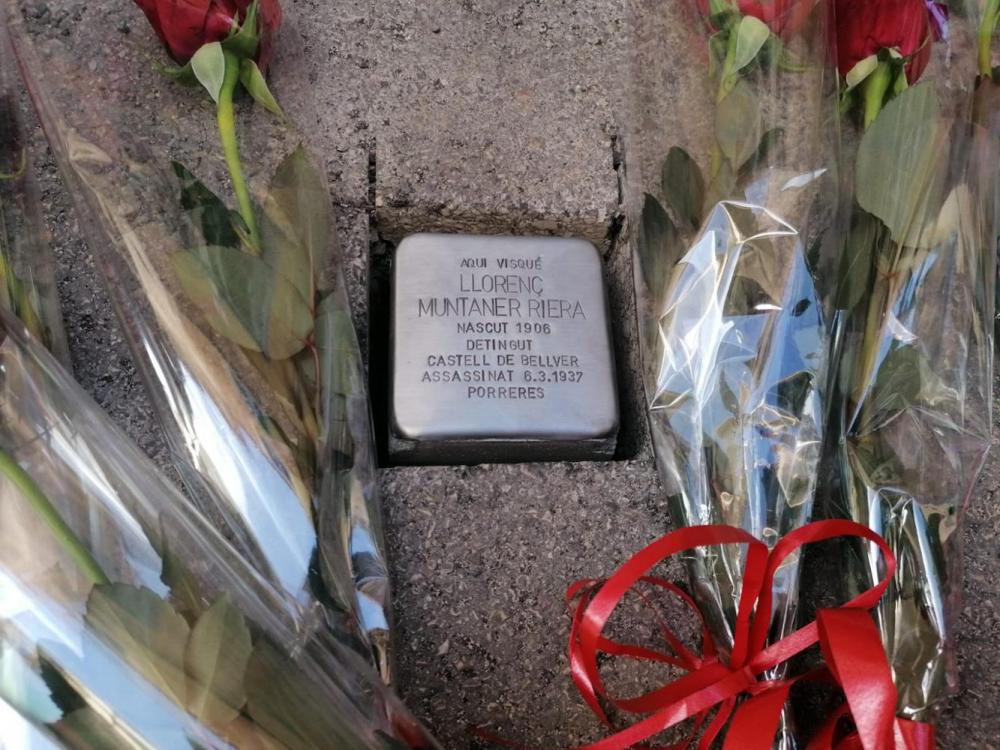Artà, Sant Llorenç y Algaida acogen los primeros actos de colocación de las piedras de la memoria