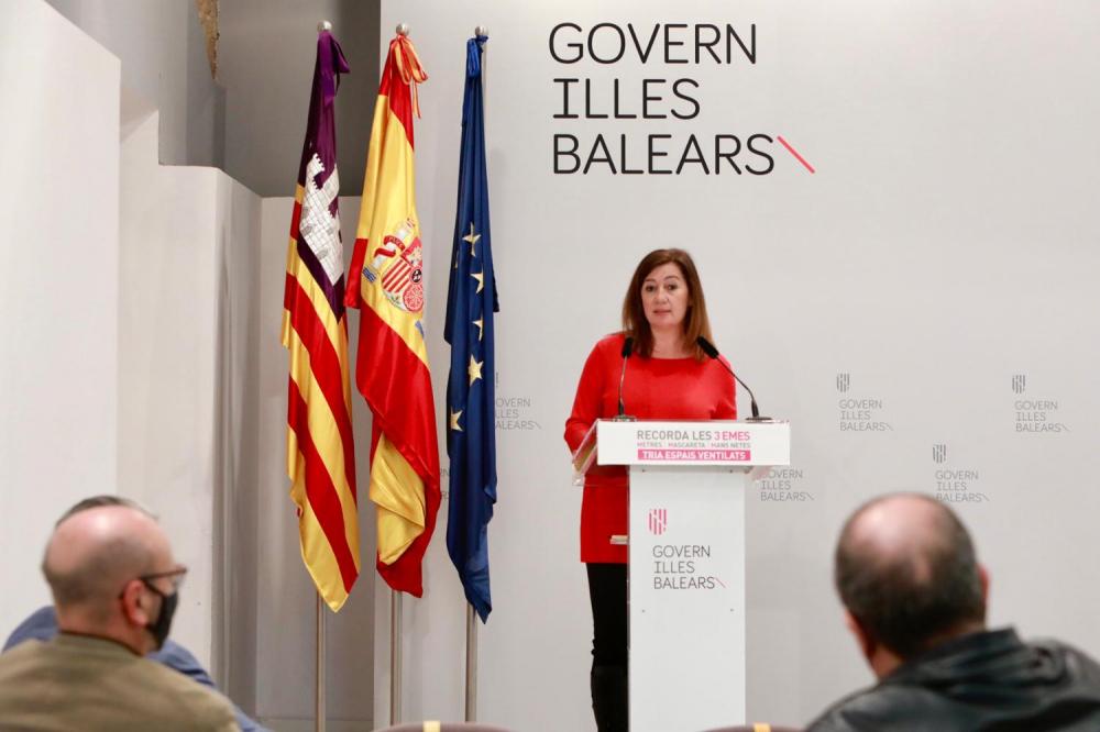 Estas son las modificaciones de las restricciones sanitarias en la isla de Mallorca