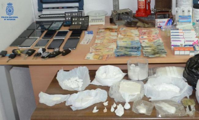 La Policía Nacional desarticula un grupo criminal dedicado al tráfico de drogas en Menorca