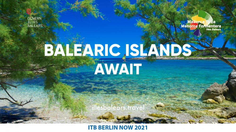 Las Islas Baleares participan en la edición virtual de ITB Berlín con el objetivo de impulsar la reactivación turística