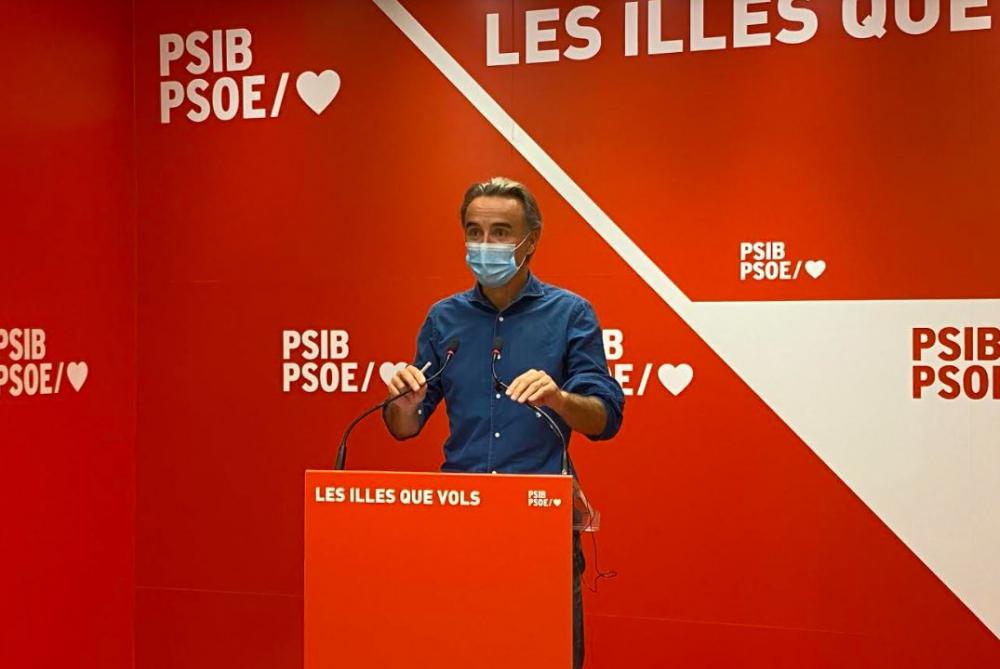 Pere Joan Pons: 'Pedimos al PP que apoyen la llegada de los fondos europeos, en lugar de poner palos en las ruedas'