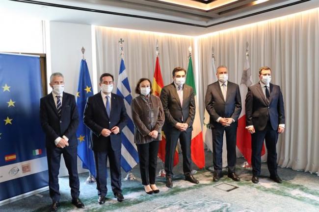 España, Italia, Grecia, Chipre y Malta reclaman a la UE un reparto equitativo de la responsabilidad en materia migratoria