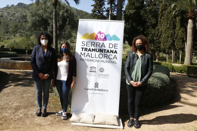Décimo aniversario de la distinción de la Unesco a la serra de Tramuntana como Patrimonio de la Humanidad