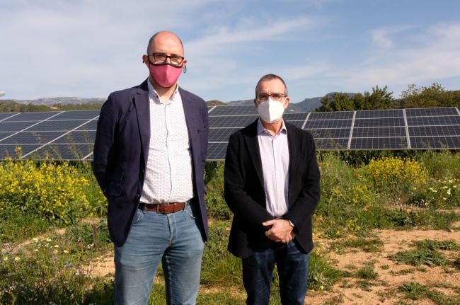 Se pone en marcha el primer parque fotovoltaico en las Illes Balears en ocho años