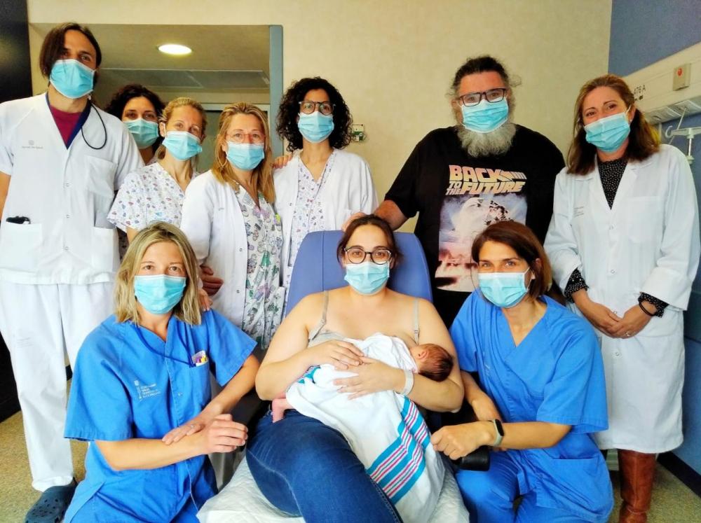 El Hospital Comarcal de Inca galardonado por su promoción de la lactancia materna