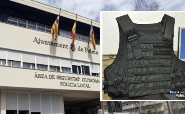 Critican que Palma sigue sin comprar chalecos antibalas para la Policía Local