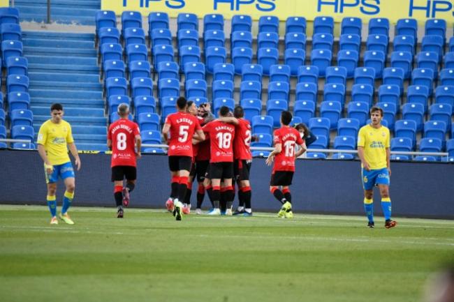 El RCD Mallorca empata a uno en su visita a Las Palmas