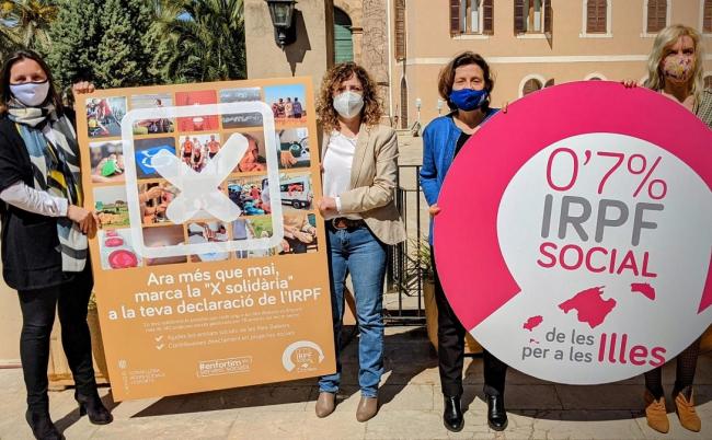 Asuntos Sociales y el Tercer Sector promueven la casilla solidaria del 0,7% del IRPF para proyectos sociales