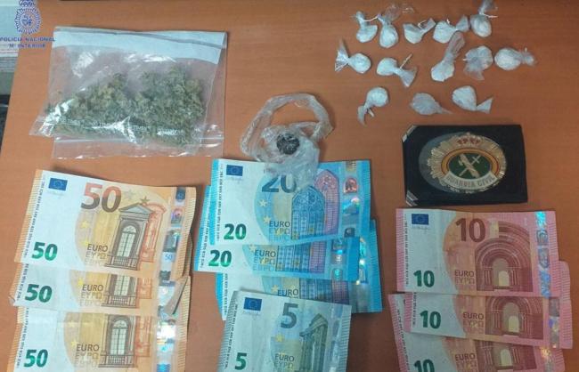 Interceptan a un vehículo que llevaba droga en un control policial en Palma