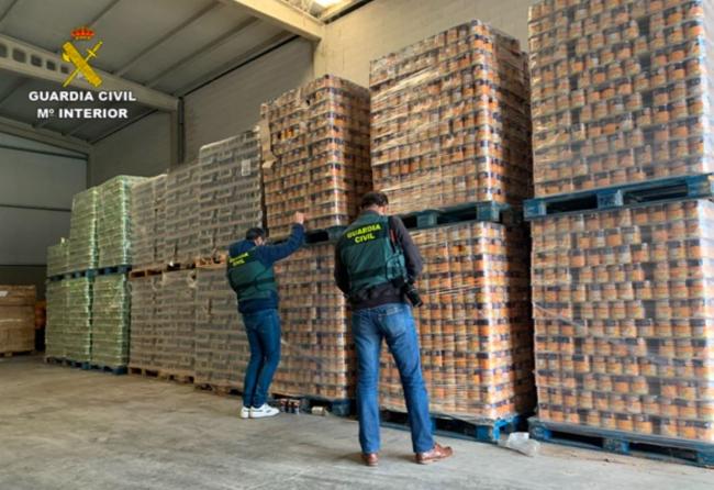 Intervenidas más de 176 toneladas de alimentos destinados a personas desfavorecidas por incumplir la normativa sanitaria