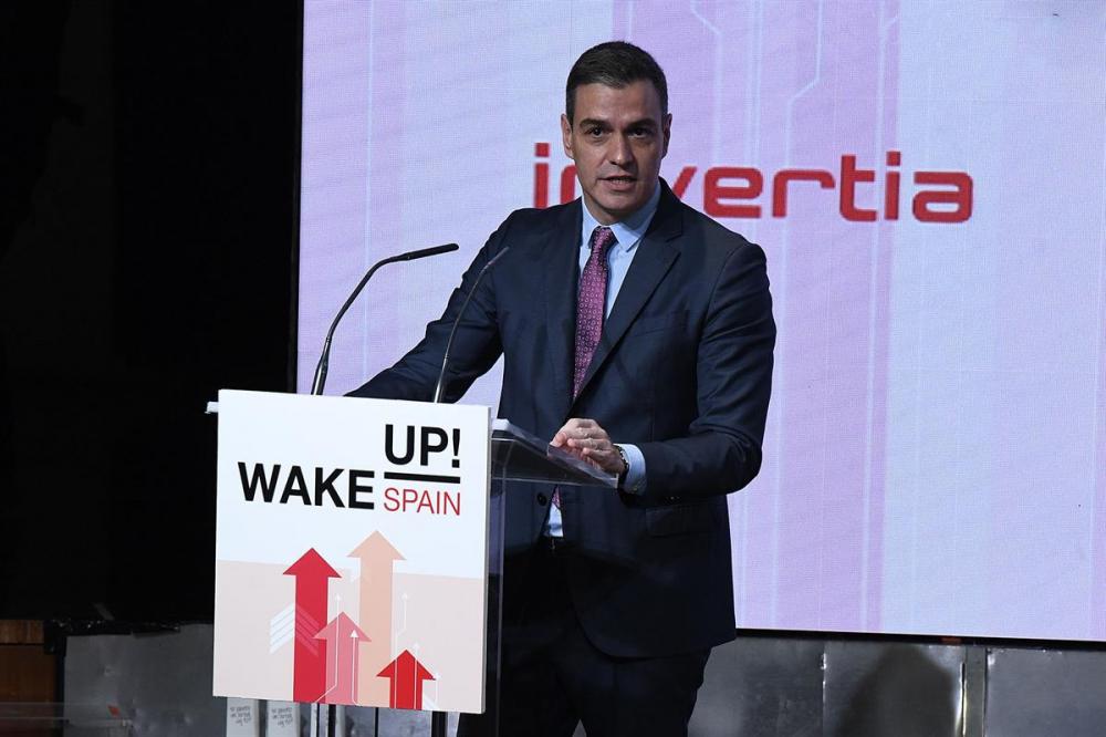 Pedro Sánchez: 'La recuperación económica se producirá al ritmo de la vacunación'