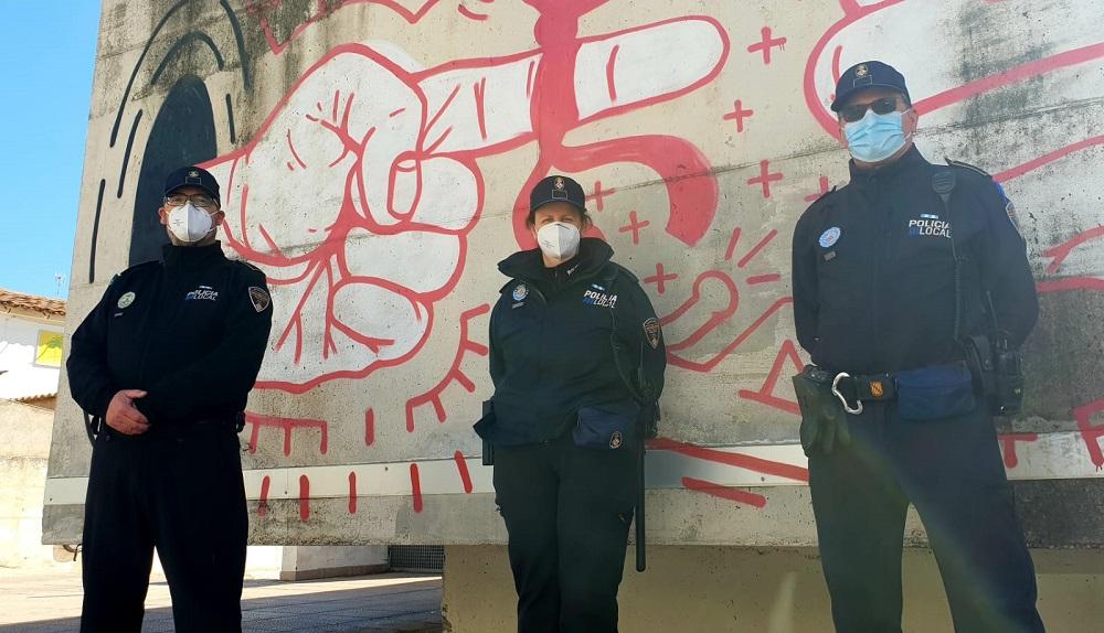 El nuevo modelo de Policía de Barrio ha sido presentado ya en barriadas de todos los distritos de Palma