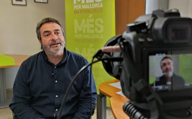 Joan Mas: 'El PP se ha instalado en la crispación como estrategia para tapar sus casos de corrupción'