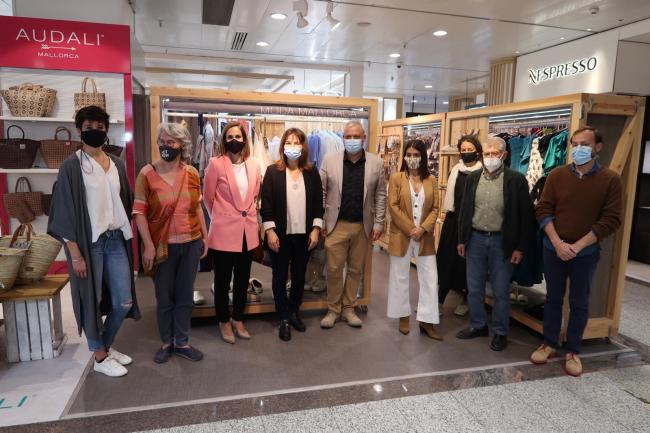 El Consell colabora con el Colectivo Moda Mallorca en la promoción de sus productos