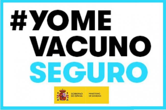 #YomeVacunoSeguro, lema de la campaña para dar confianza en la seguridad de las vacunas