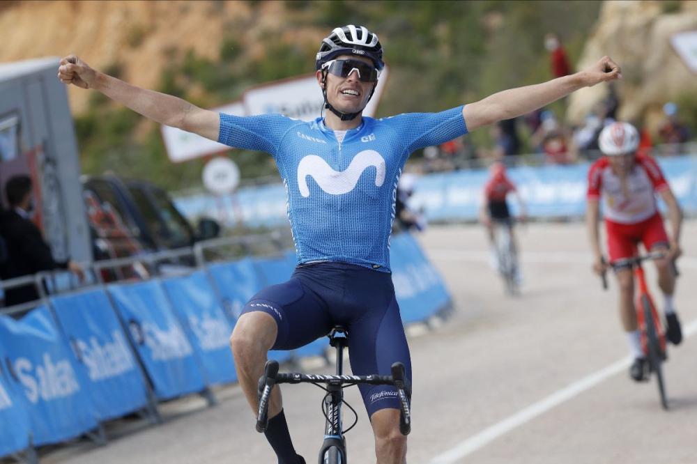 El mallorquín Enric Mas gana la etapa 'reina' de la Vuelta Comunidad Valenciana