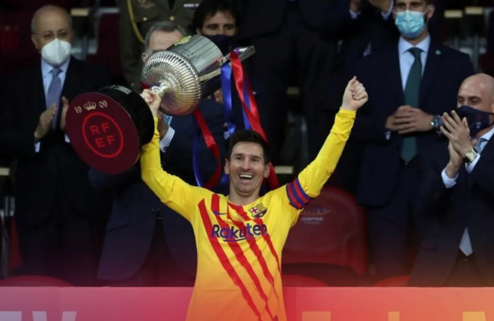 El Barcelona, Campeón de la Copa del Rey