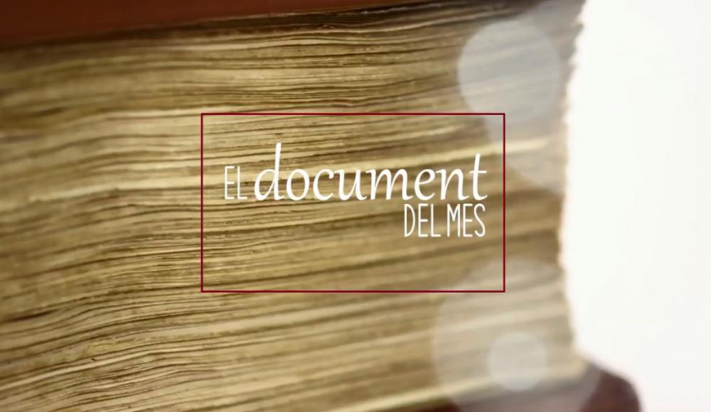 Las Germanías protagonizan el Documento del mes del Archivo del Reino