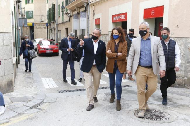 El Consell de Mallorca aporta 976.000 euros al Ayuntamiento de Sóller para realizar mejoras municipales hasta 2023