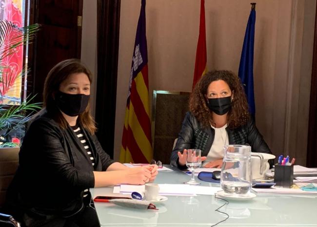 El Govern y el Consell de Mallorca se reúnen con ayuntamientos para informar y hacer seguimiento de la pandemia
