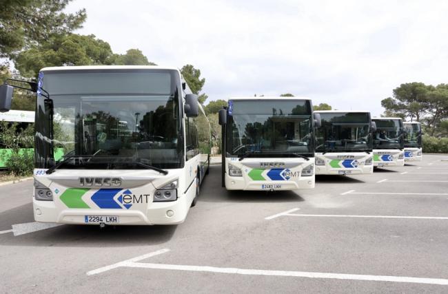 El servicio de la EMT Palma incrementa su oferta de transporte por la vuelta al colegio