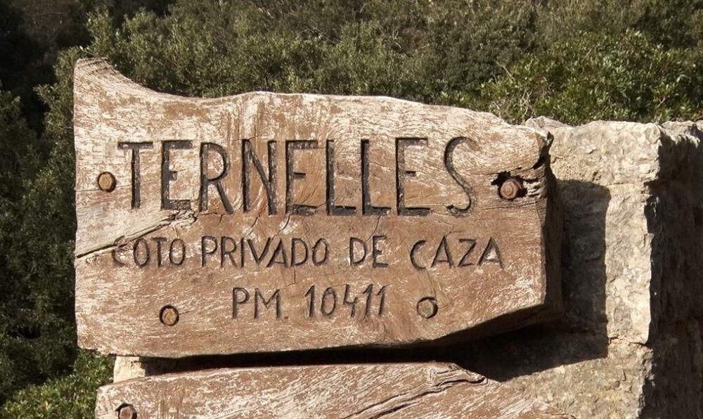 El Consell de Mallorca colabora con el Gobierno para recuperar el pas de Ternelles