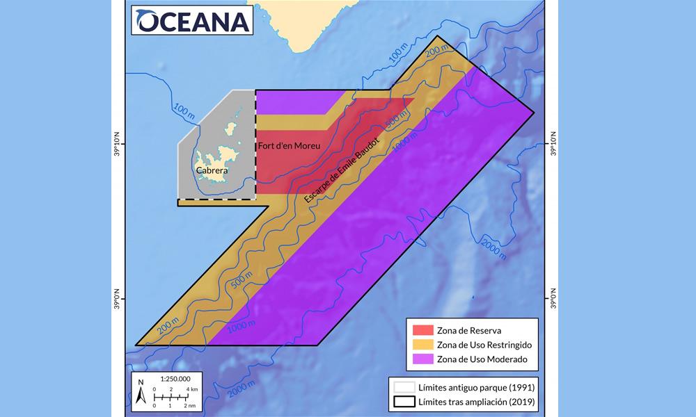 Oceana: Cabrera necesita urgentemente modernizar la gestión pesquera tras la ampliación del Parque Nacional