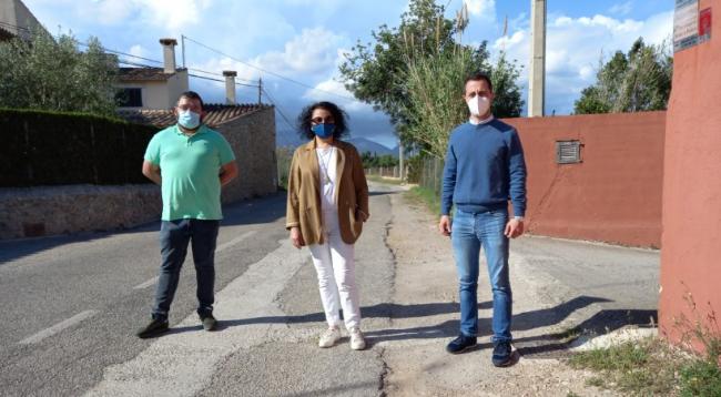 El PP de Lloseta reclama al Consell de Mallorca el inicio inminente de mejora del camino de son Tugores