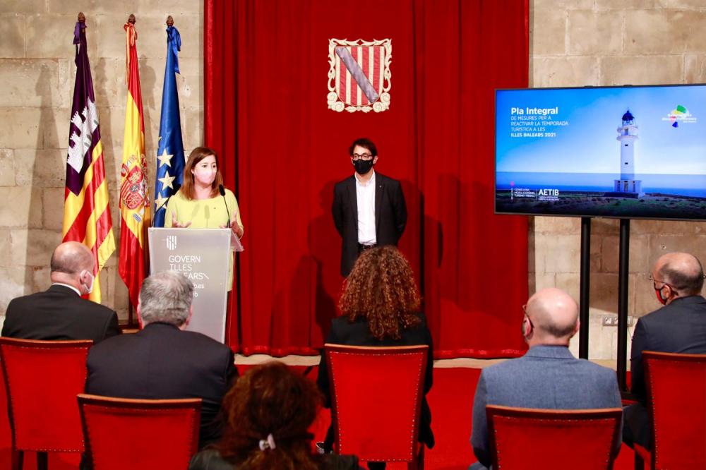 El Govern presenta un Plan para la reactivación del turismo dotado con 11 millones de euros
