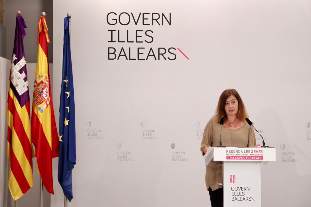 Las Islas Baleares no mantendrán el toque de queda más allá del 6 de junio