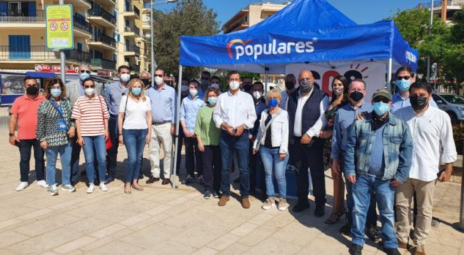 Los restauradores de Playa de Palma expresan al PP su preocupación por el mantenimiento de las restricciones